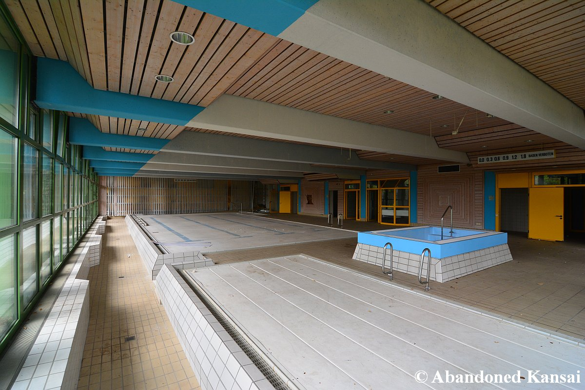Abandoned Indoor Swimming Pool Abandoned Kansai