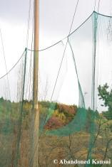Damaged Driving Range Nets