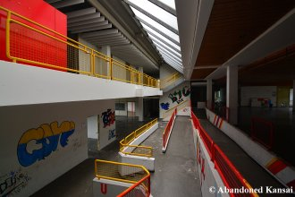 Ramps Inside Of A German School