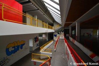 Ramps Inside Of A German School