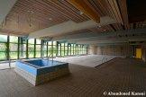 Verlassener Pool der Alten Martinsschule