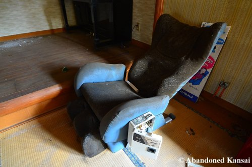 abandoned-massage-chair