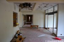 Abandoned Hospital Lobby