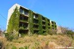 Partly Overgrown ApartmentBuilding