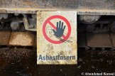 Asbestos Fibers Warning Sign