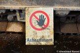 Asbestos Fibers Warning Sign