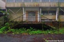 Locked Abandoned Gymnasium