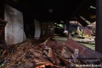 Partly Collapsed Japanese Countryside RestStop