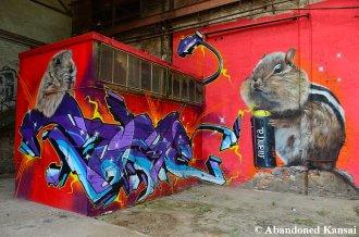 Quite Nice Abandoned Graffiti