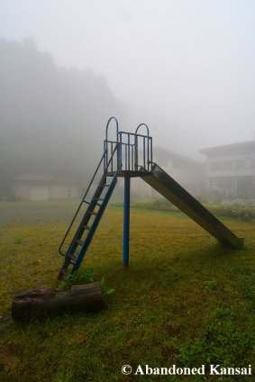 Slide On A Foggy Day