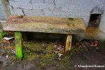 Tiny Wooden OutdoorBench