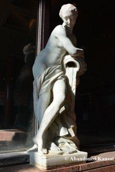 Abandoned Bath Statue