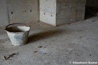 Abandoned Construction Site Bucket
