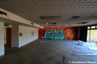 Abandoned Hotel Conference Room