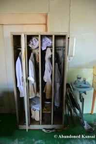 Abandoned Hotel Kitchen Lockers