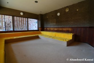 Abandoned Hotel Sauna