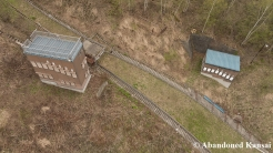 Closed Ski Jump From The Air