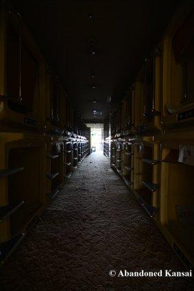 Deserted Capsule Hotel
