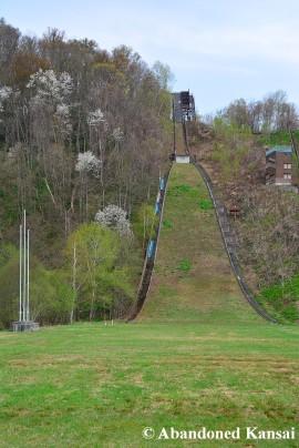 Deserted Hokkaido Ski-Jumping Hill