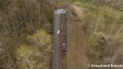 Deserted Ski Jump From Above