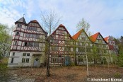 Abandoned German Timber Framework Houses