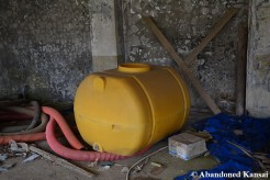 Abandoned Plastic Tank