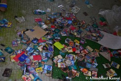 Abandoned Pokemon Cards