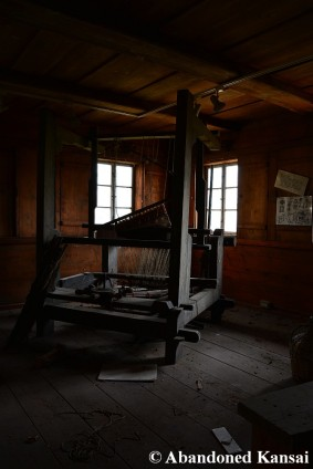 Abandoned Weaving Loom