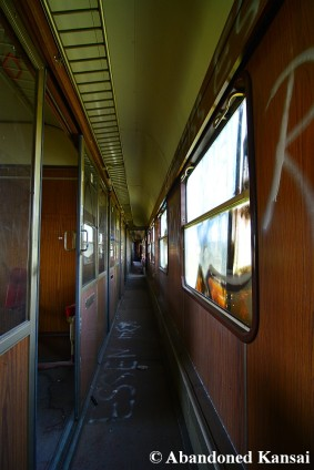 Abandoned Train Hallway