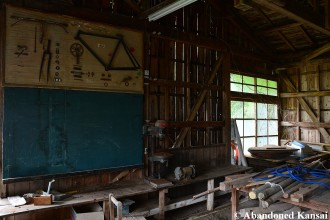 Abandoned Room For Handicraft Activities