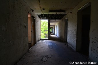 Beautiful Abandoned Hotel Hallway
