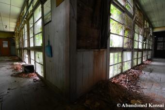 Deserted Hospital Hallways