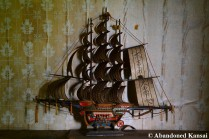 Old Japanese Model Ship