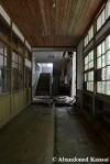 Wooden School HallwayJapan