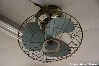 Abandoned Japanese Ventilator