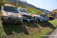 Abandoned Cars Japanese Countryside