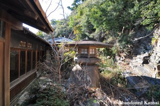 Abandoned Ryokan Garden