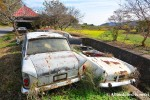 Abandoned Singer Car