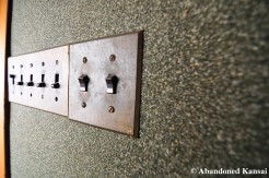 Old Japanese Light Switches