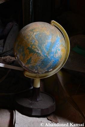 Old Plastic Globe