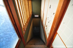 Steep Ryokan Stairs