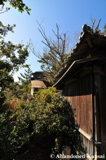 Wooden Ryokan Building