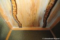 Wooden Ryokan Ceiling