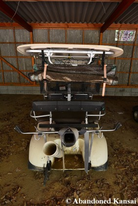 Abandoned Golf Cart