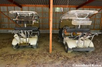 Abandoned Golf Carts