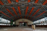 Large Abandoned Gymnasium