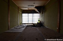 Partly Collapsed Tatami Room