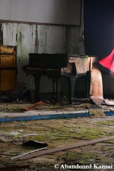 Vandalized Grand Piano