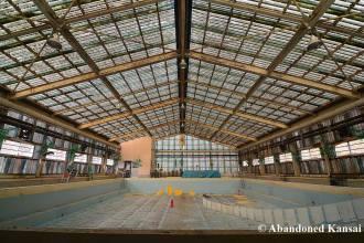 Abandoned Indoor Hotel Pool