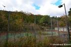 Abandoned Outdoor Tennis Court